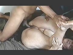 Сперма на киски по очереди